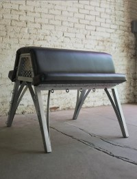 Padded Spanking Bench by MetalBound, exclusive to the Stockroom!