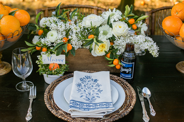 southern-wedding-floral-napkins