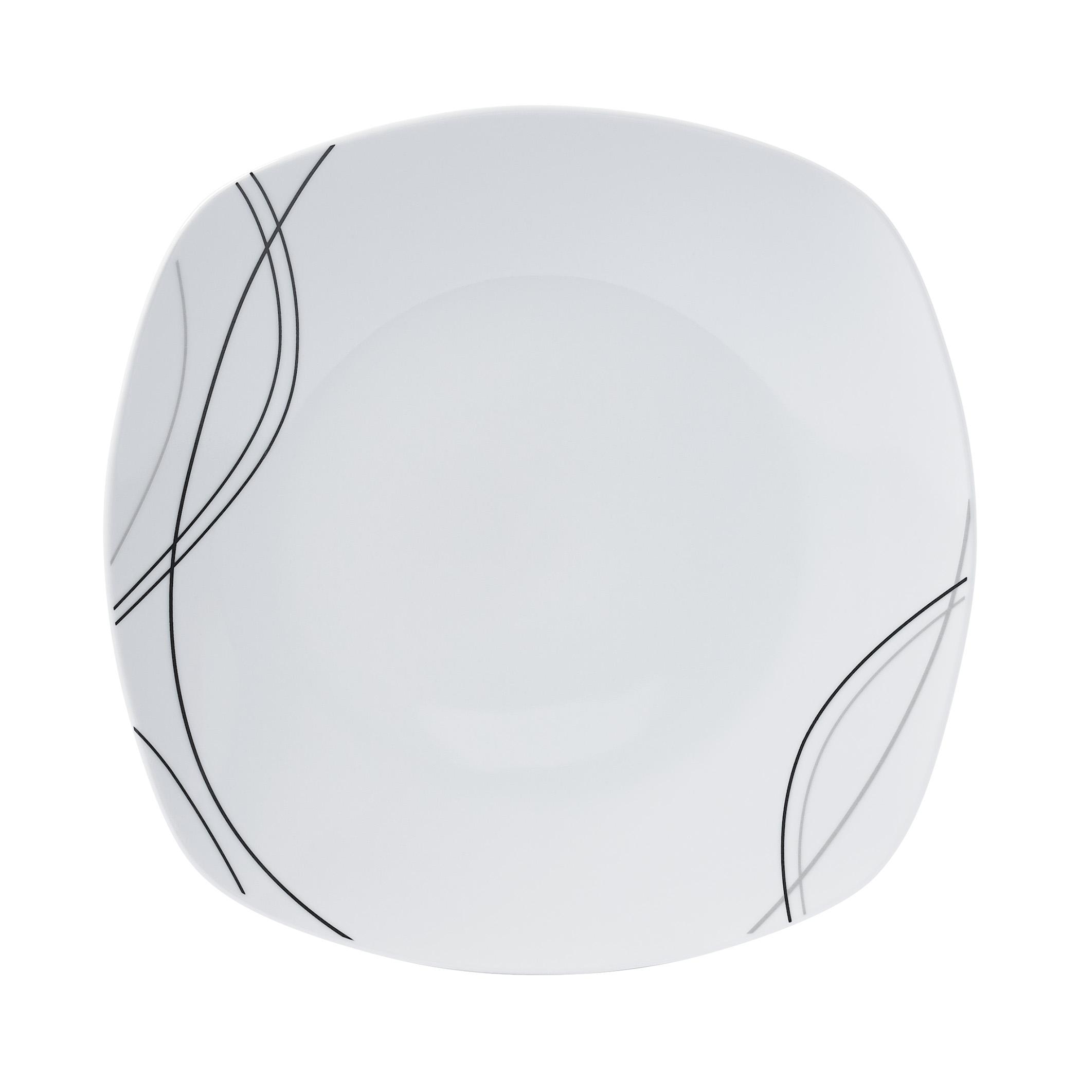 White Square Dinnerware Sets
