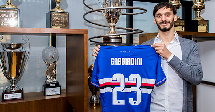 Genova, 11/01/2019 Sampdoria/Gabbiadini - Ritratti Manolo Gabbiadini