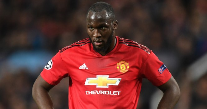 Romelu Lukaku of Manchester United