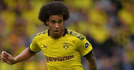 Axel Witsel Ruled Out Until 2020 After Suffering Accident At Home
