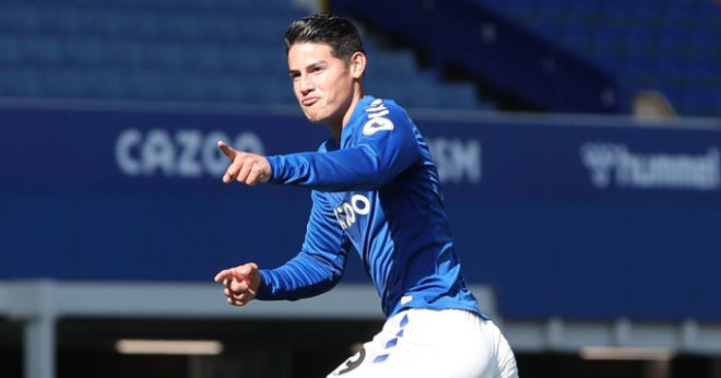 Colombian club take aim at Everton chief in rant about James transfer fee