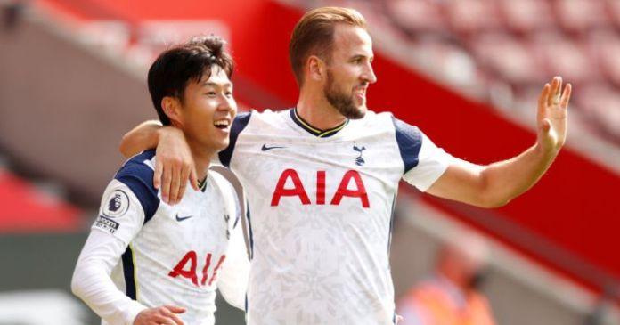 Fils Heung-min, Harry Kane Tottenham