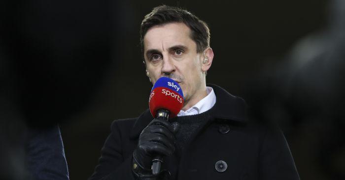 Gary Neville Sky Sports TEAMtalk