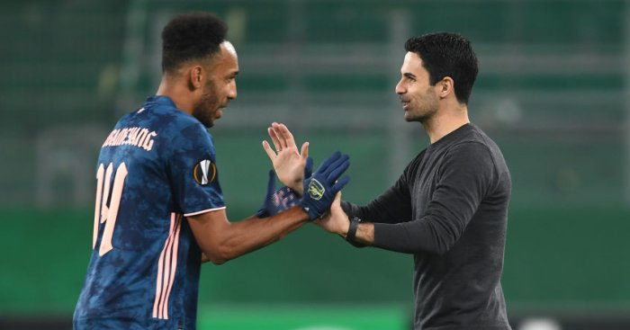 Arteta explains why goals will come and refuses to blame Aubameyang