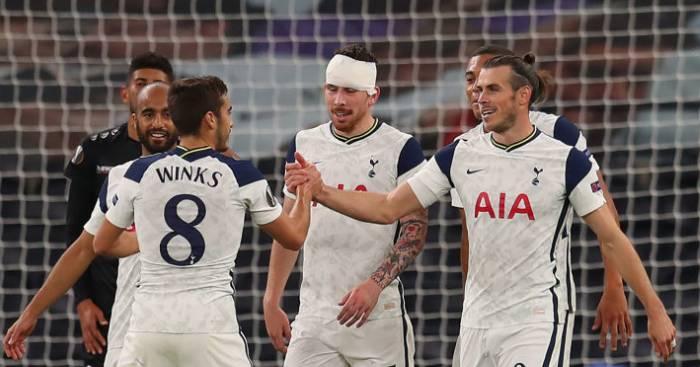 Harry Winks Gareth Bale Tottenham TEAMtalk