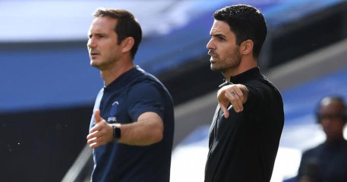 Arteta.Arsenal.Lampard.Chelsea.TEAMtalk