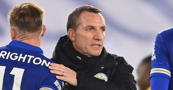 Rodgers compares Leicester talisman Vardy to Liverpool cult favourite