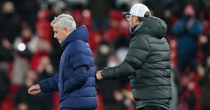 Tottenham boss Mourinho reveals details of post-match clash with Klopp