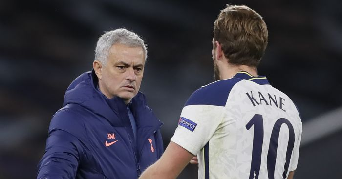 Mourinho influence on Kane given seal of approval by Rodgers