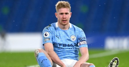 De Bruyne Blow For Man City As Timeframe Emerges On Latest Injury Blow
