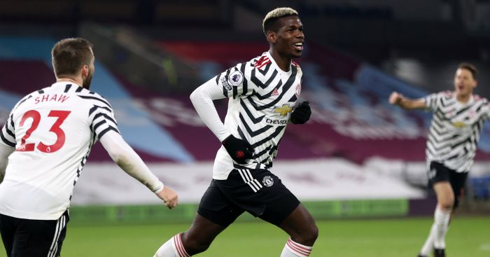 Paul Pogba volley sends Man Utd top in VAR-heavy win at Burnley