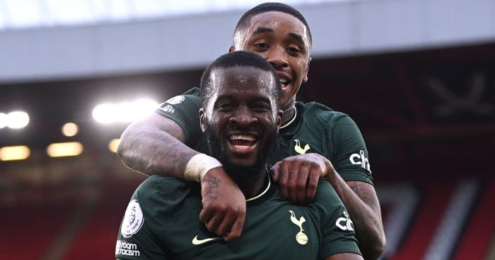 Ndombele stunner helps Tottenham overpower Sheff Utd in vital away win