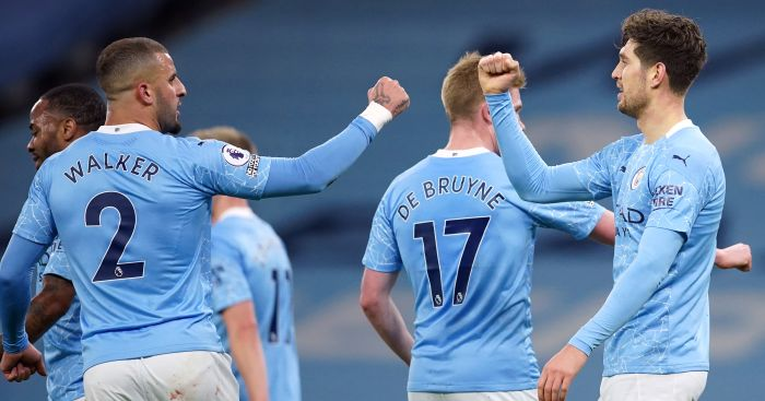 Man City lay down title marker as Stones bags brace in Crystal Palace rout