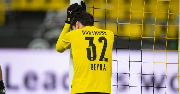 Giovanni Reyna Borussia Dortmund v Augsburg janar 2021