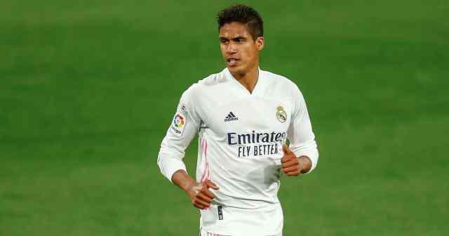 Raphael Varane of Real Madrid