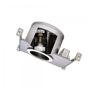 halo h47ict recessed lighting can 6 line voltage ic rated slope ceiling housing for new construction