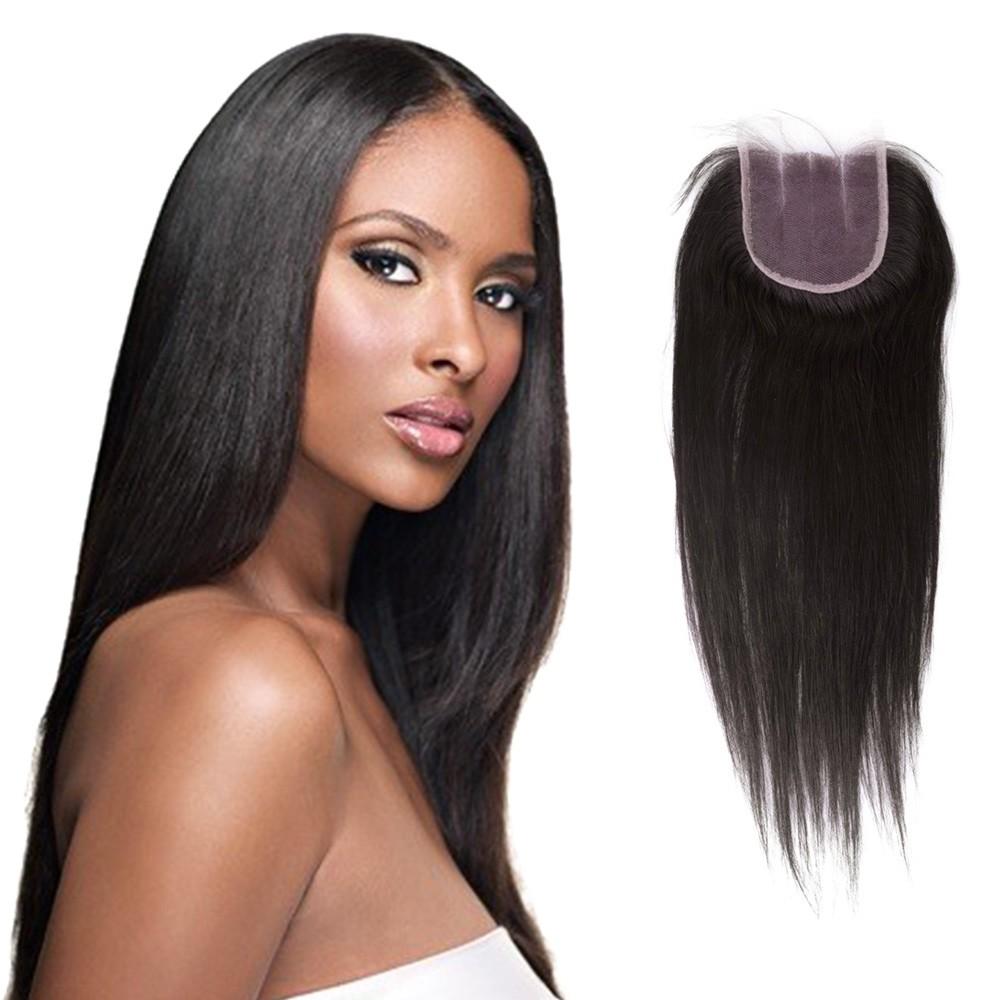 Virgin Brazlian Hair Straight With 4x4 Closure