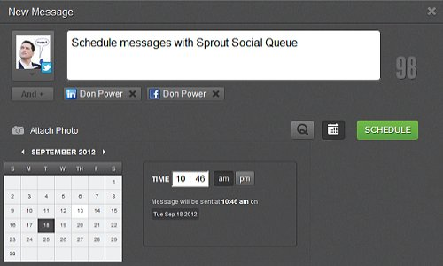 Sprout Social Queue