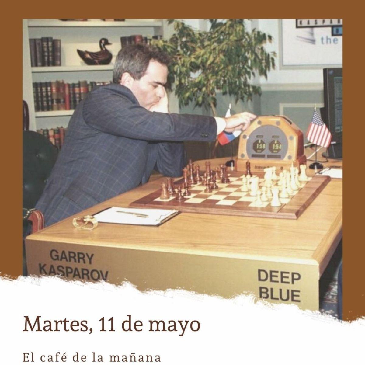Martes, 11 de mayo. Deeper Blue derrota a Kaspárov