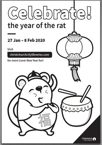 Lunar New Year Christchurch City Libraries