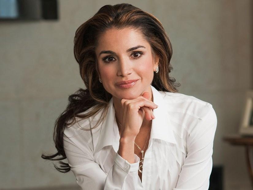 نتيجة بحث الصور عن الملكة رانيا