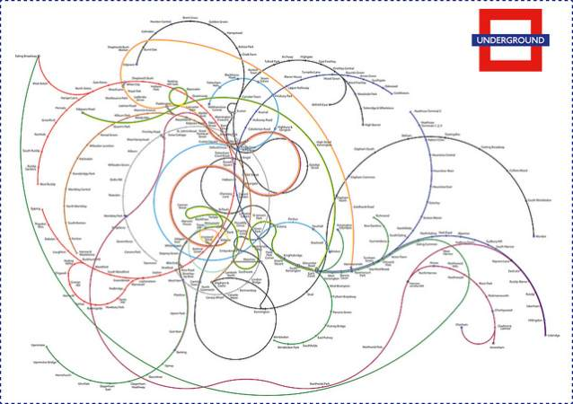 Art in London Tube Maps - Twisted!