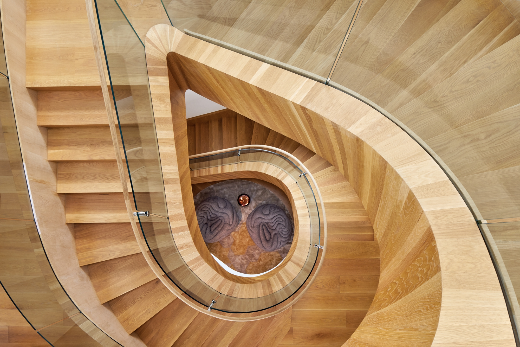 8 Simply Amazing Spiral Staircases Interior Design Magazine   Spiral Staircase Los Angeles   Old Fashioned   Most Efficient   Double Spiral   Rome   Topanga Canyon