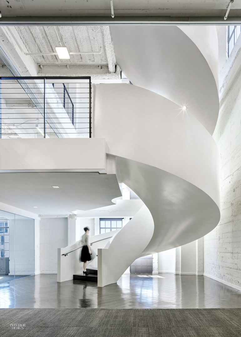 8 Simply Amazing Spiral Staircases Interior Design Magazine   8 Foot Spiral Staircase   Stair Railing   Winding Staircase   Stair Parts   Wood   Modern Staircase