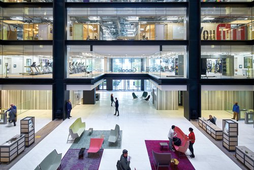 At Google S London Office Ahmm Overturns Decades Of Workplace Norms Interior Design Magazine