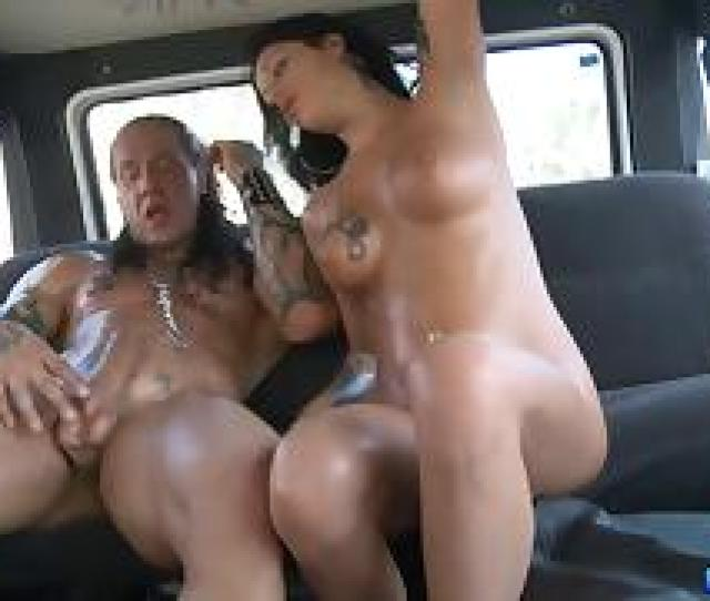 Sweaty Reality Porn Sex In The Van With A Tattooed Whore
