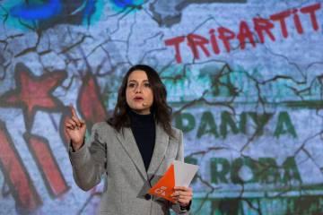 La candidata de Ciudadanos a la presidencia de la Generalitat, Inés Arrimadas.