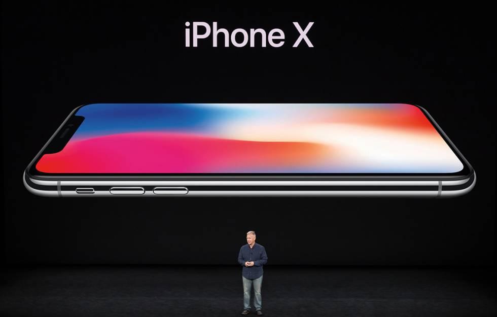 Presentación del iPhone X.