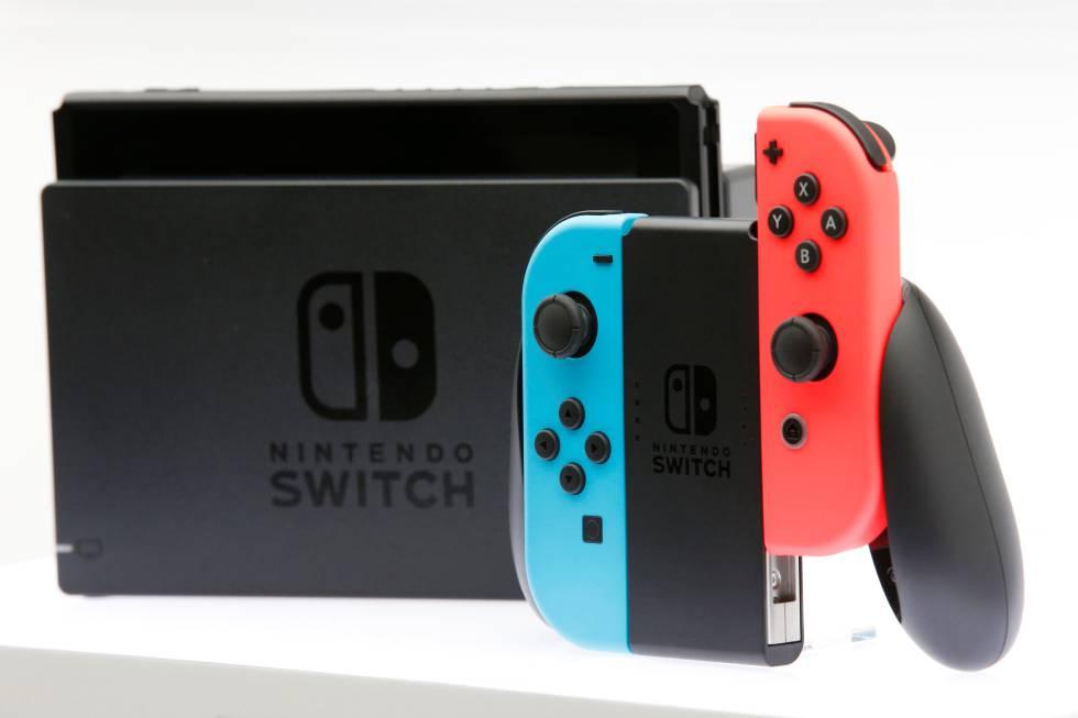Nueva consola Switch de Nintendo.
