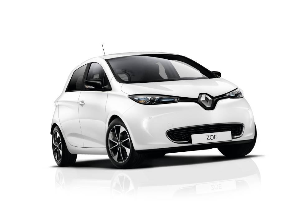 Renault Zoe. Un cinco plazas diseñado ya como eléctrico (no adaptado de un convencional), tiene 403 km de autonomía.