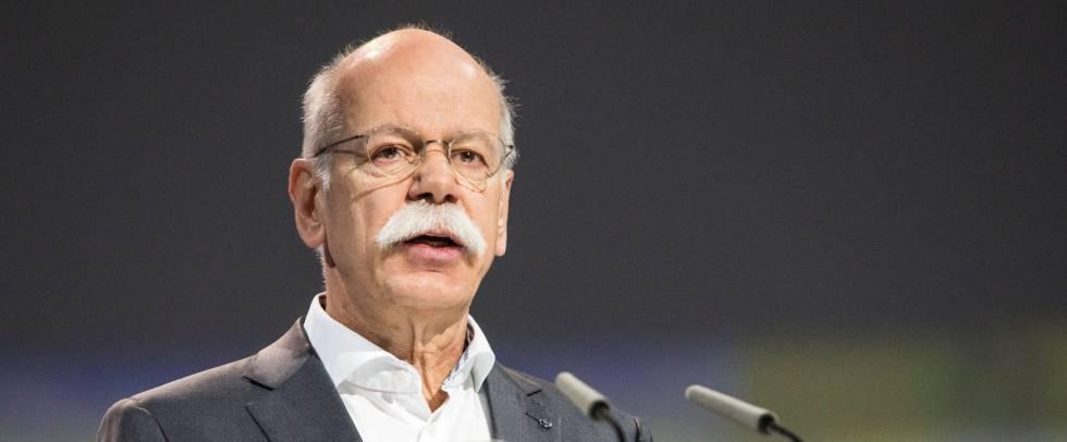 El presidente del Consejo de Administración del fabricante automovilístico alemán Daimler y director de Mercedes-Benz, Dieter Zetsche