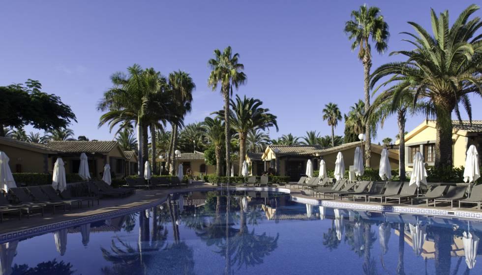 Hotel Dunas Maspalomas, en Gran Canaria, propiedad de Hispania. manuel casamayón