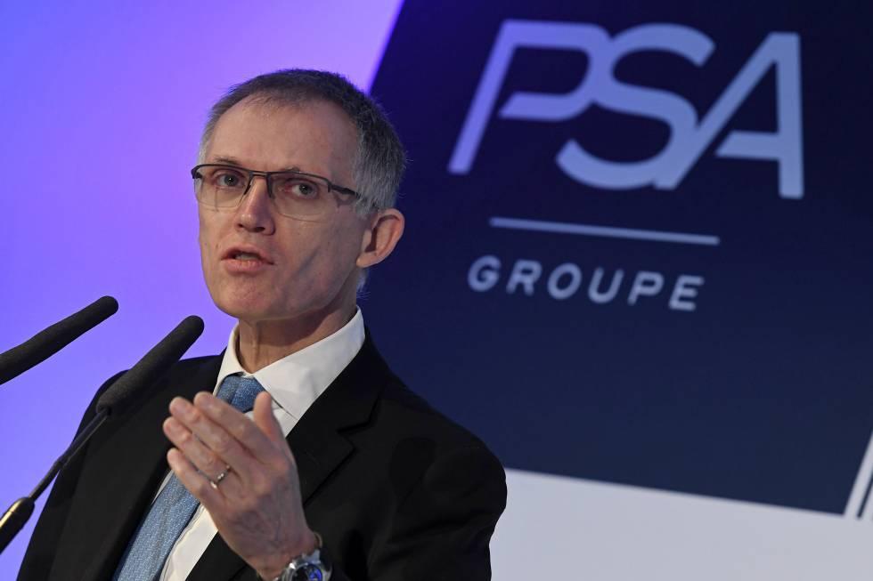 Carlos Tavares, presidente ejecutivo de PSA.