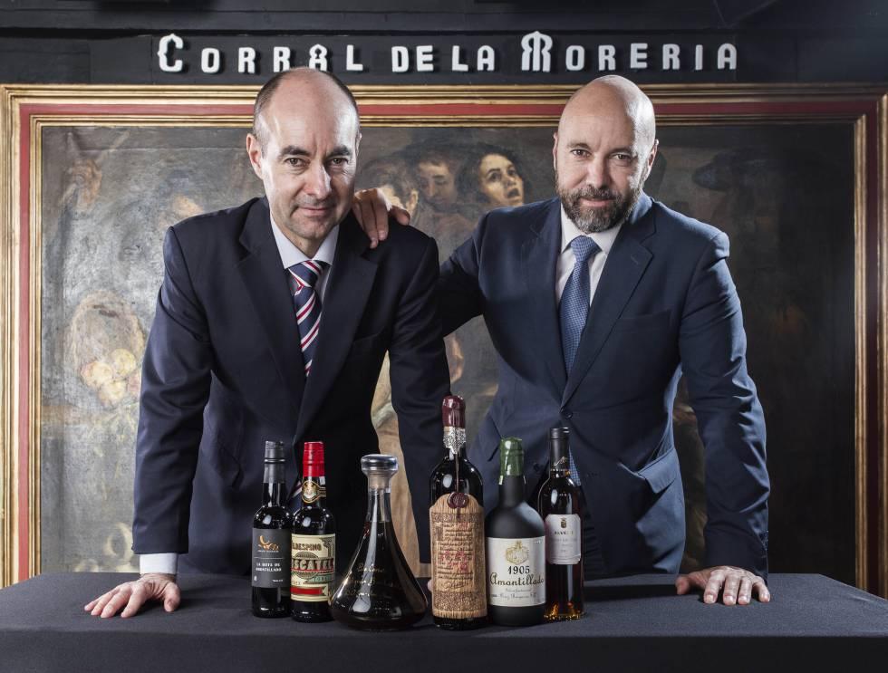 Juan Manuel y Armando del Rey, directores del tablao.
