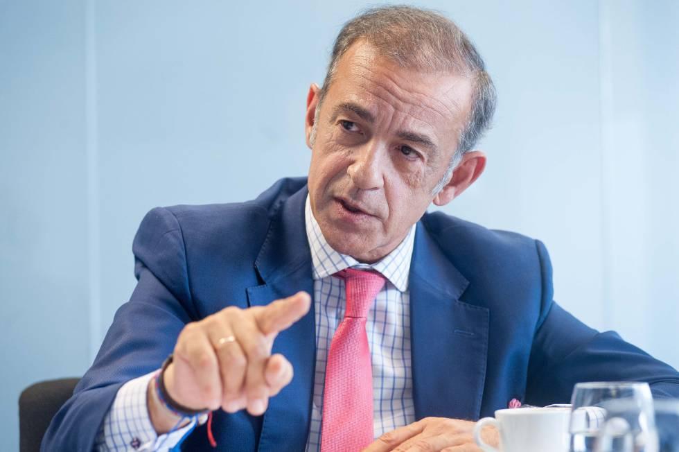 Javier Basagoiti, presidente de Corpfin Capital Real Estate y de Inbest.