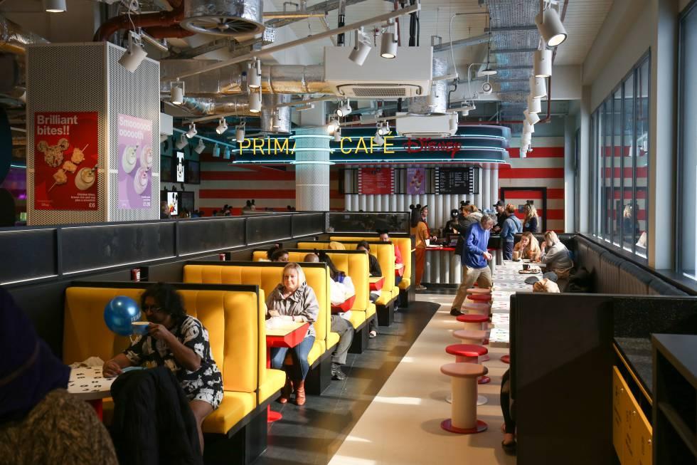 Café Disney de la nueva tienda de Primark.