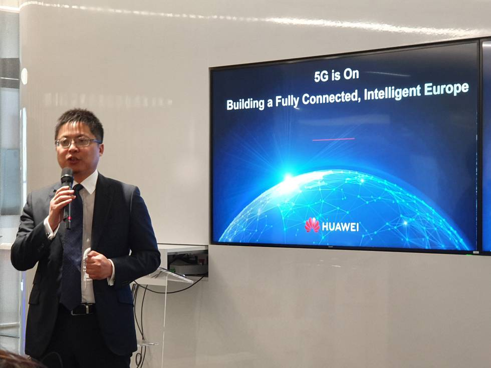 CEO de Huawei España, Tony Jin Yong