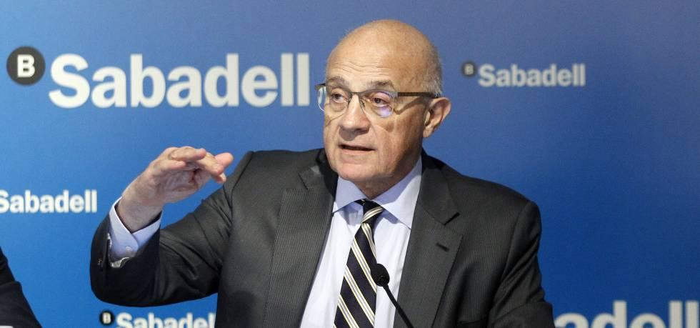 Josep Oliu, presidente de Banco Sabadell