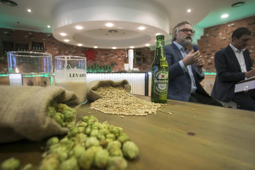 Fábrica de Heineken en Madrid, en una imagen de archivo.