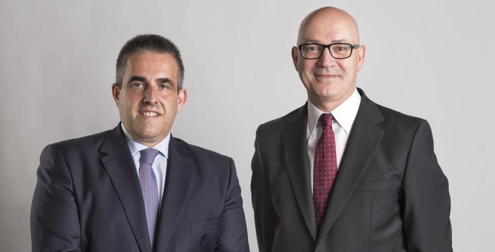 Víctor del Pozo y Jesús Nuño de la Rosa, consejeros delegados de El Corte Inglés.