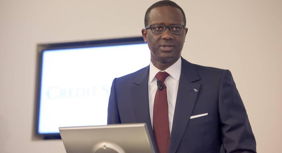 El consejero delegado de Credit Suisse, Tidjane Thiam.