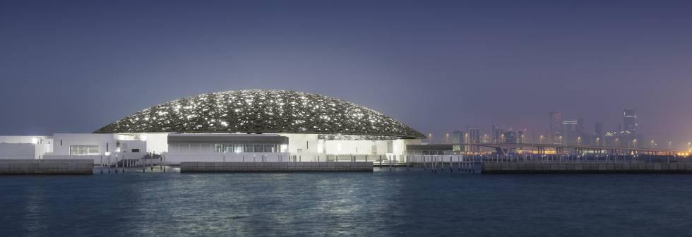 El Museo del Louvre de Abu Dabi, una obra de Grupo San José inaugurada en 2017.