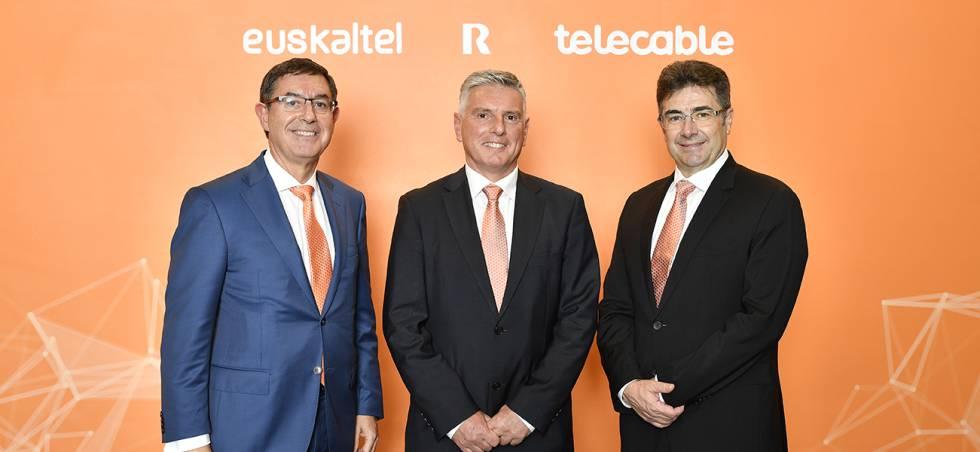 Alberto García Erauzkin, Xabier Iturbe y José Miguel García.