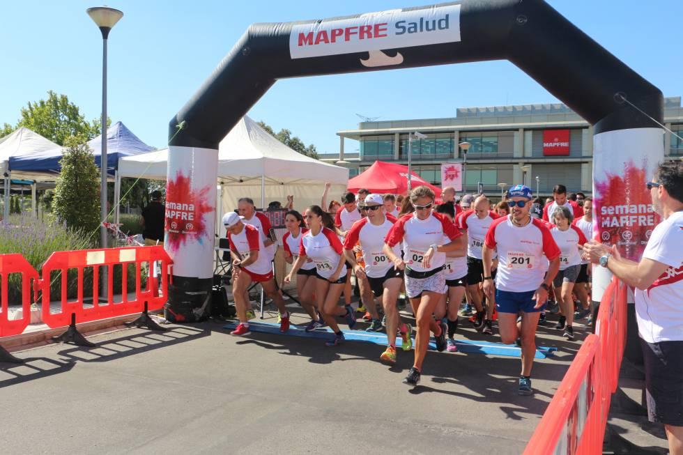 La Semana Mapfre promueve la actividad física.